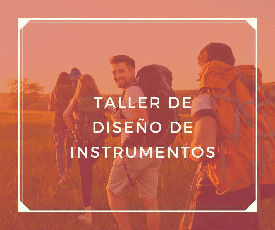 TUR-263 Taller de diseño de instrumentos para diagnóstico turístico