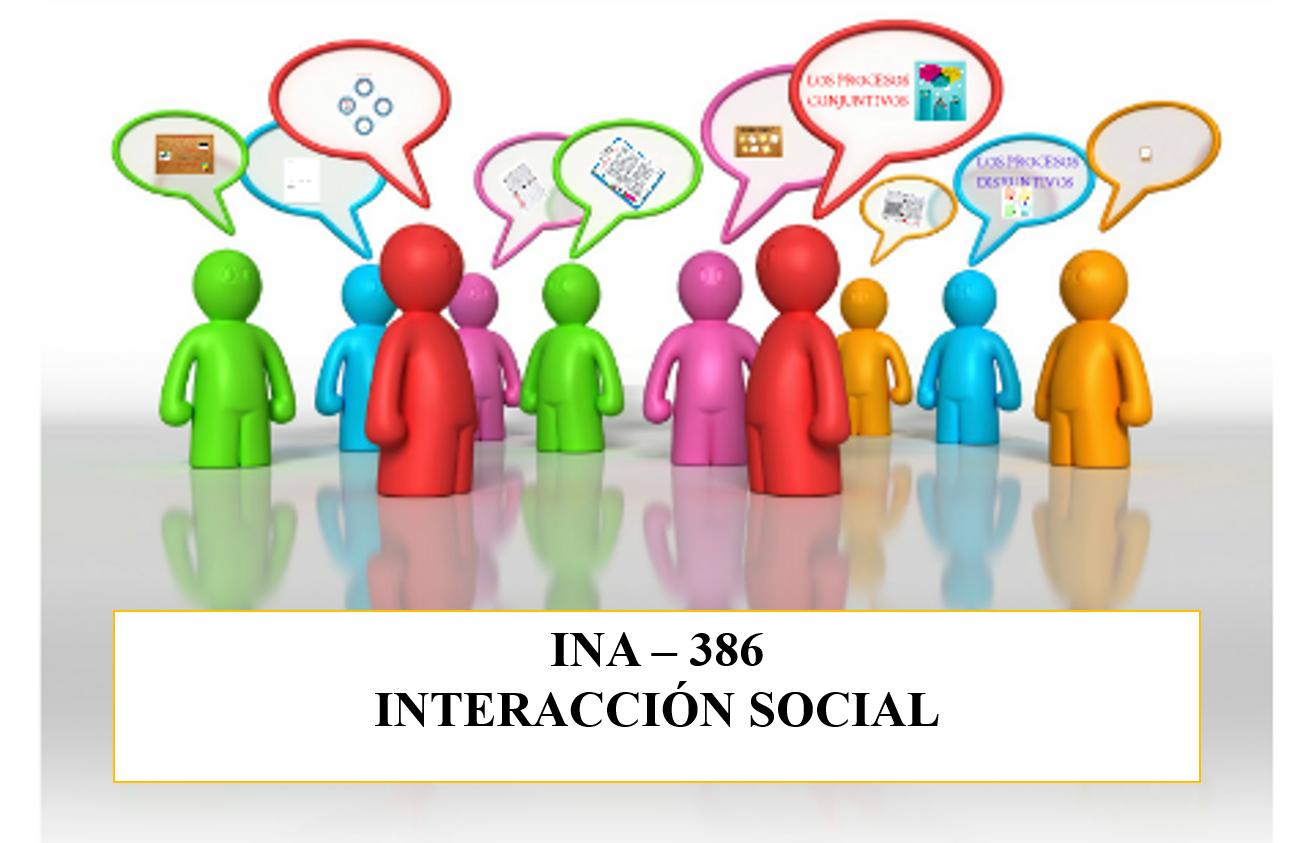 INA-386 Interacción Social